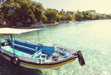 Fishing boat in Bali