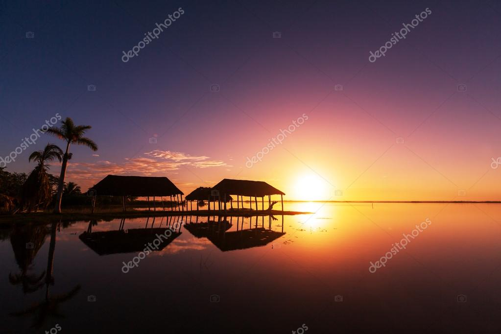 Beach scene background