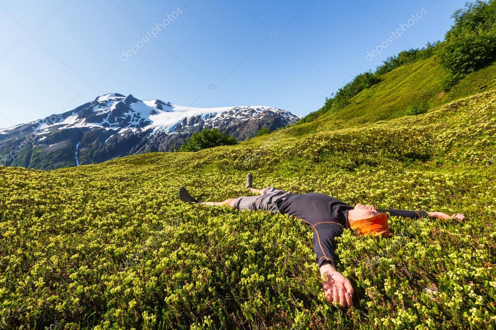 Rilassanti soggiorni in montagna — Foto Stock © kamchatka #89639144