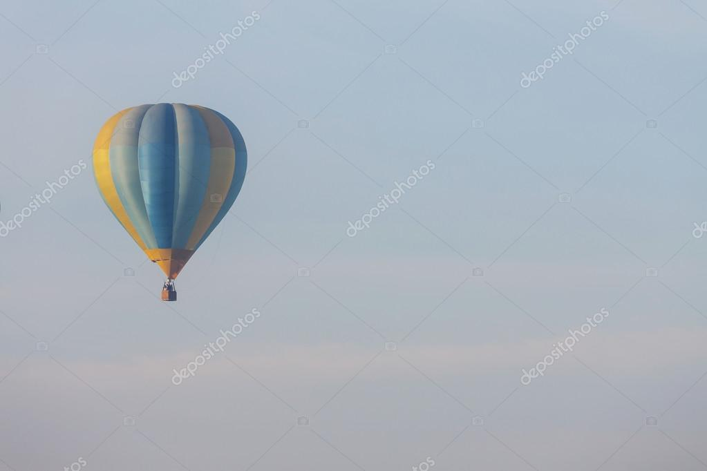 Balloon in blue sky