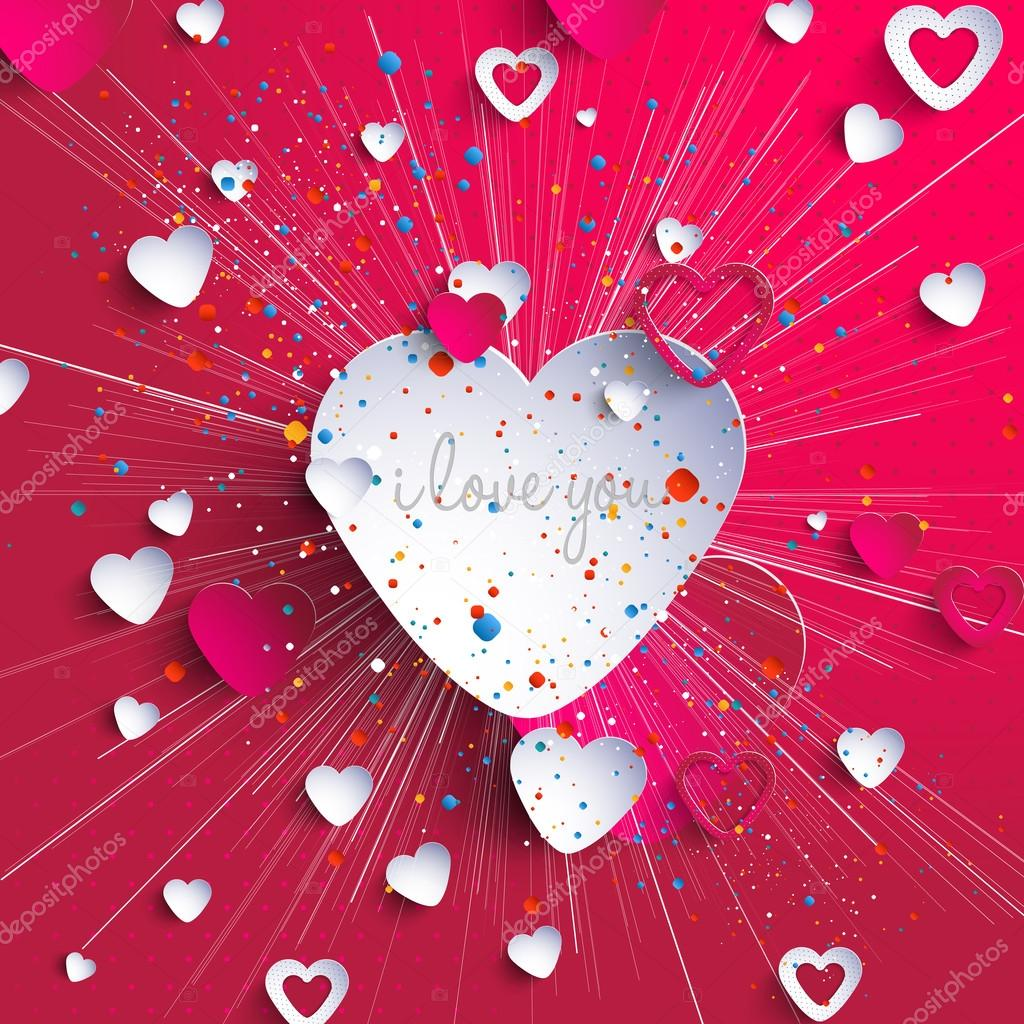 Vector Set: Heart and Love Labels clipart vector