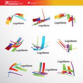 astratto 3d carta infografica