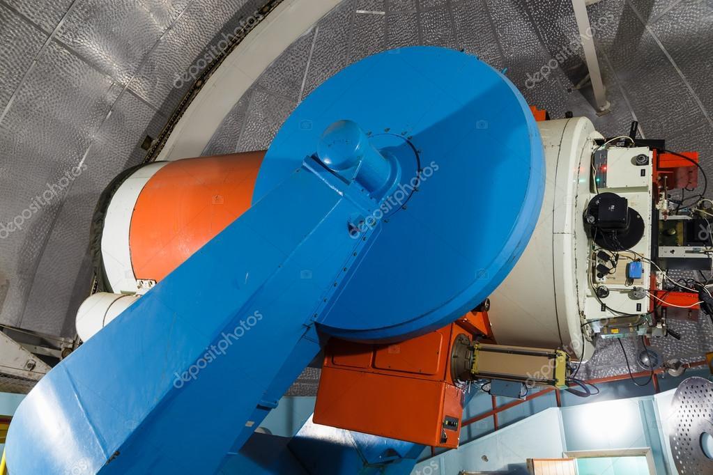 大型光学望遠鏡 — ストック写真 ...
