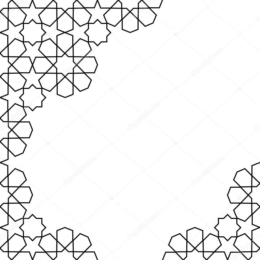 marokkanische Mosaik-Vorlage — Stockvektor © Nataly-Nete #100336362