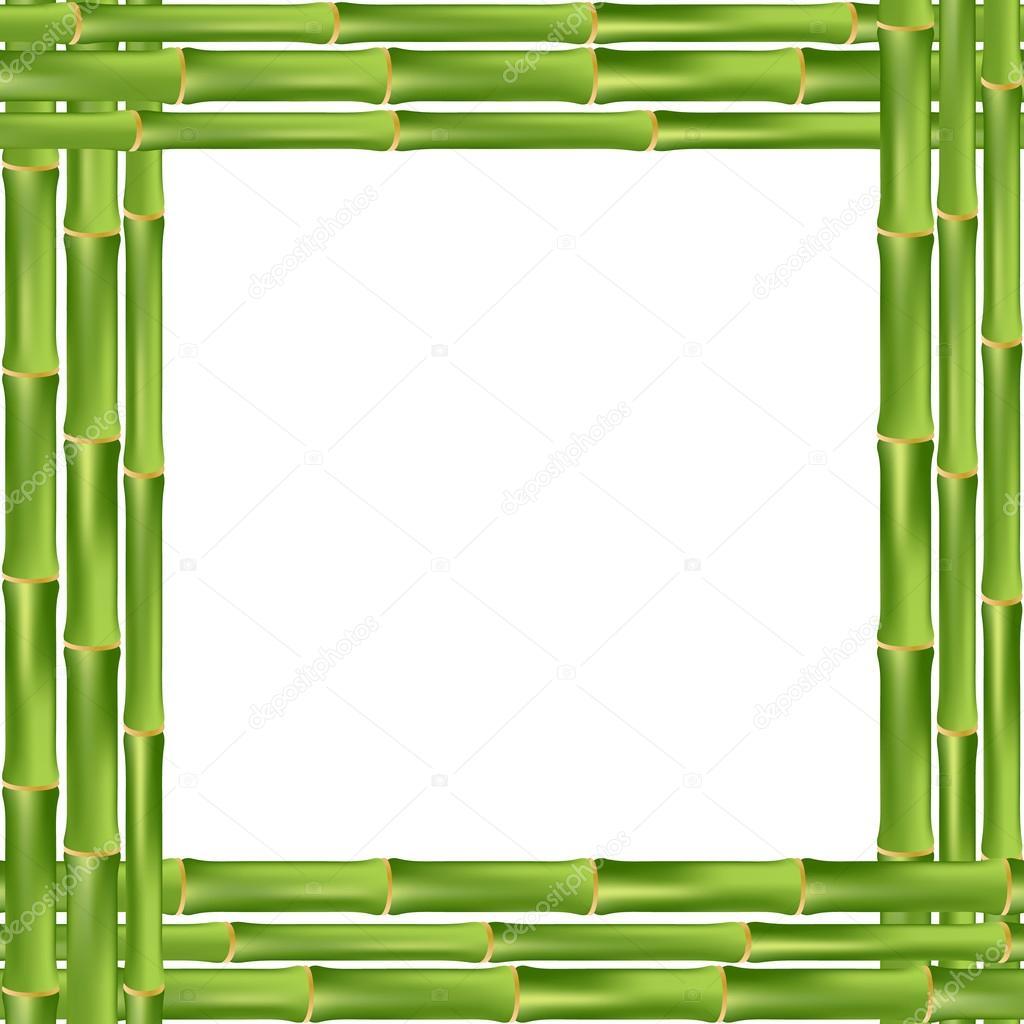 Bambus-Rahmen — Stockvektor © Nataly-Nete #80325590