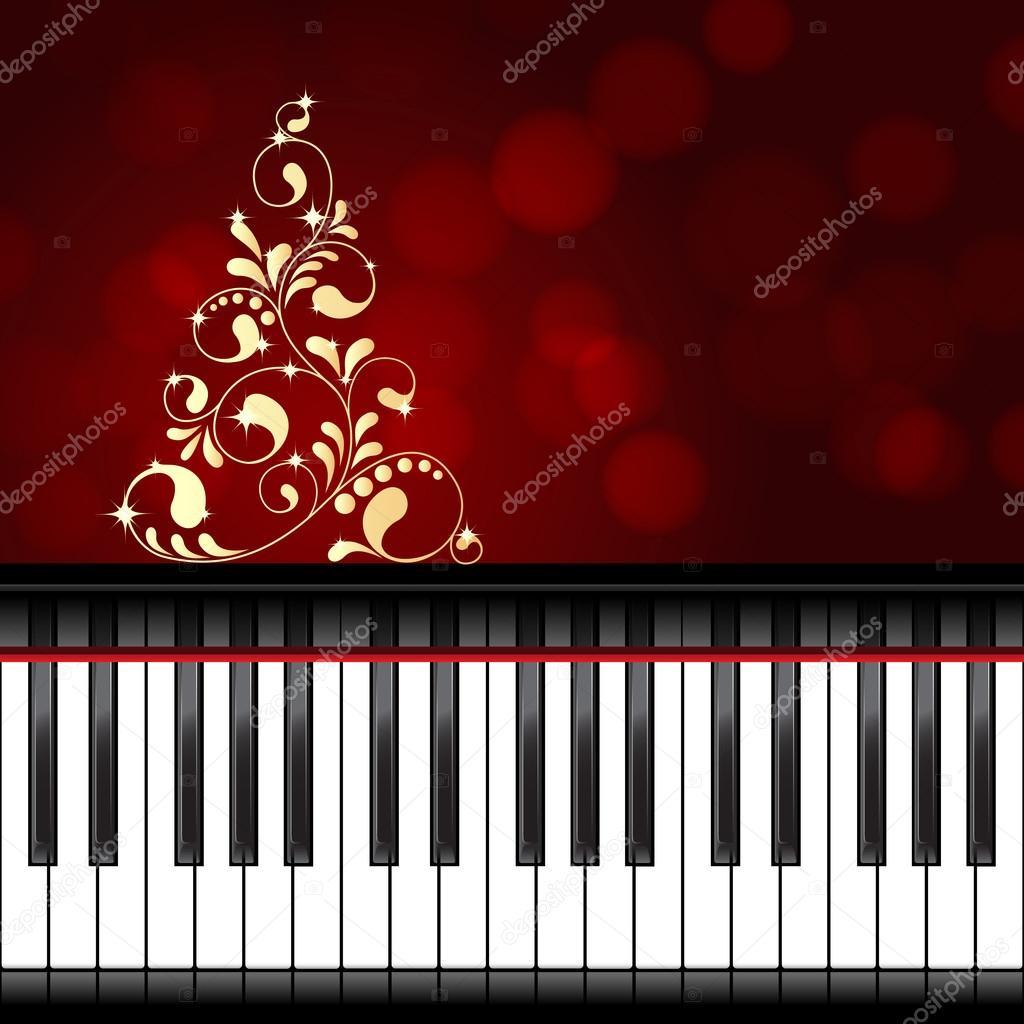 zenés karácsonyi képek zenés karácsonyi sablon — Stock Vektor © Nataly Nete #81913928 zenés karácsonyi képek