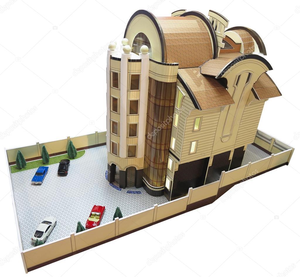 Maquetas de casas modernas misma como la del entorno el for Casa moderna maqueta