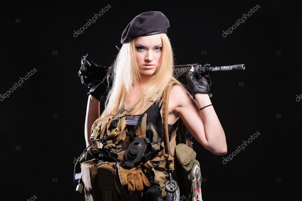 Armeemädchen