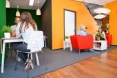 modern irodai várakozási terület