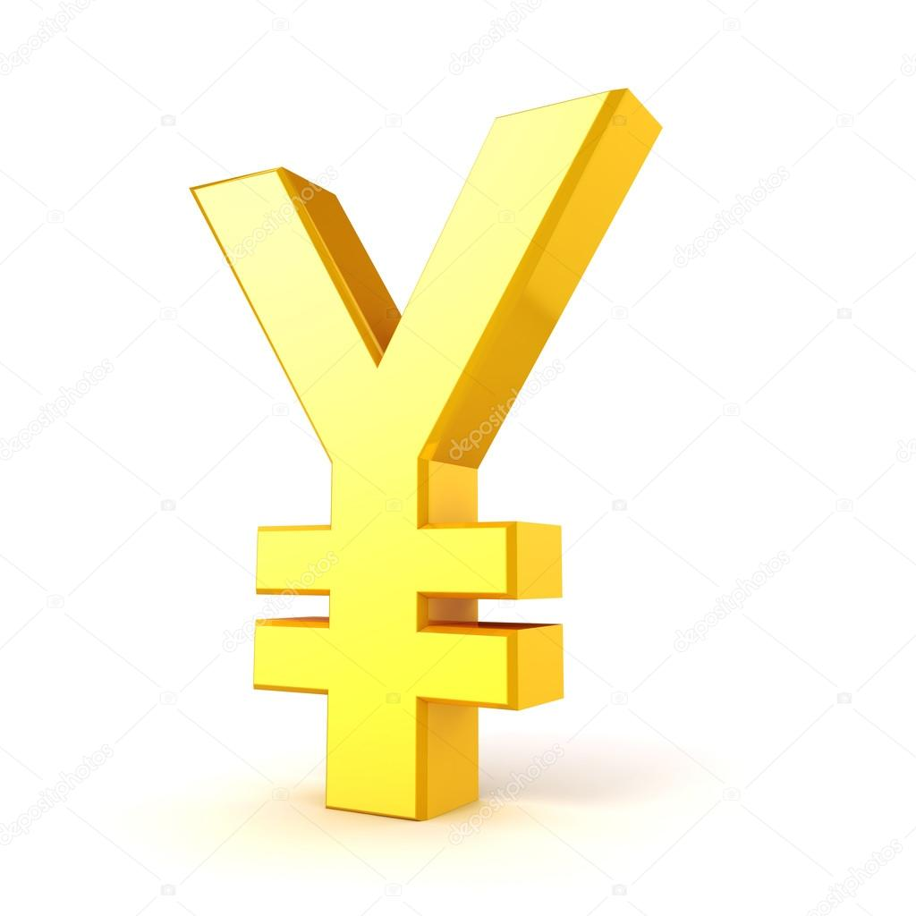 3d gold yuan currency symbol on white background stock photo 3d gold yuan currency symbol on white background photo by digitalgenetics biocorpaavc