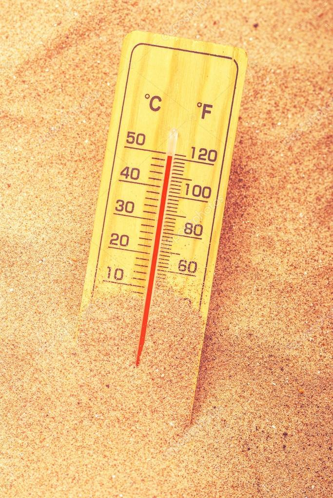 Warm desert