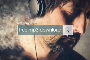 Free mp3 download web search bar glossary term