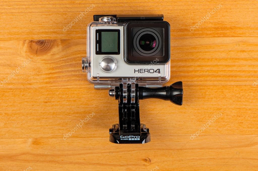 GoPro Hero 4 negro — Foto editorial de stock © stevanovicigor #113860362