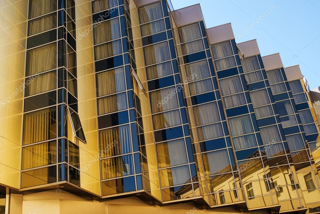Beispiel Fur Moderne Architektur Mehrfamilienhaus Detail