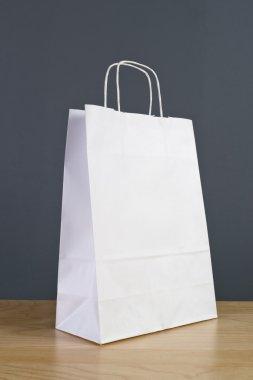 White Paper Shopping Bag