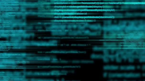 Abstraktní animovaný počítačové programování kódu jako technologické zázemí