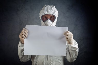 Medical Health Worker in Protective Clothing