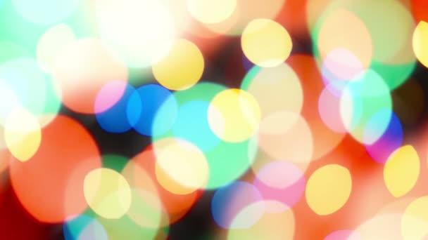 Krásné barevné rozostření bokeh slavnostní osvětlení jako abstraktní svátek oslav pozadí