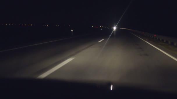 auto noční disk