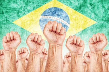 Brasil Labor movement, workers union strike