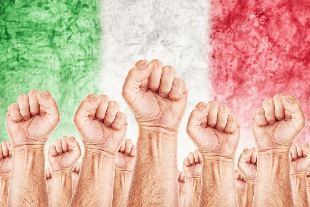 Italy Labour movement, workers union strike