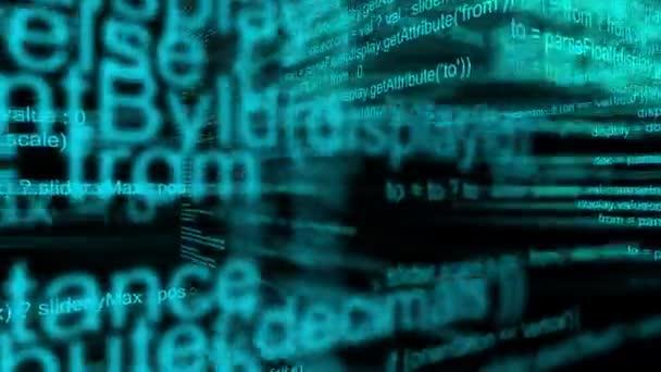 Programování kódu skriptu jako technologie a Internet pozadí