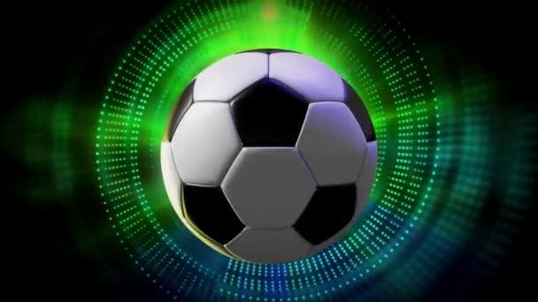 Rotující fotbal, basketbal a Baseball míček jako 3d animovaný sport Motion grafika pozadí v rozlišení full Hd 1920 x 1080