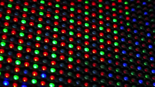 RGB LED Display as Technology Background