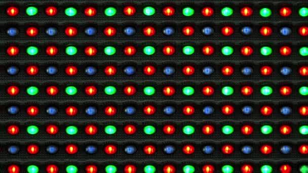 RGB Led kijelzőn, mint informatikai háttér
