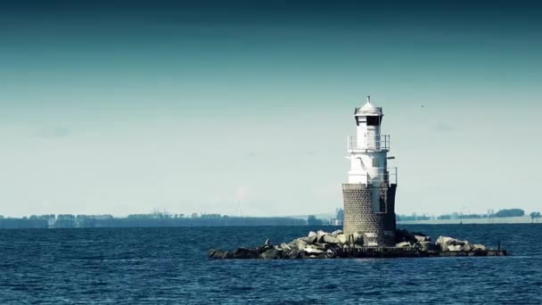 Lighthouse at Open Sea