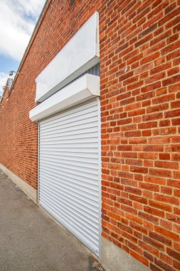 Industrial Roll Shutter Garage Door