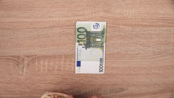 Cash payout at office desk
