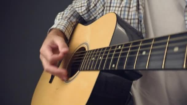 Akusztikus gitár strumming