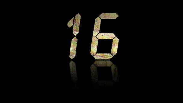 Zwanzig-Sekunden-Countdown