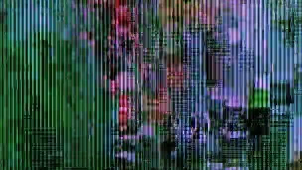 Digitális kábeltelevíziós jelforrás torz