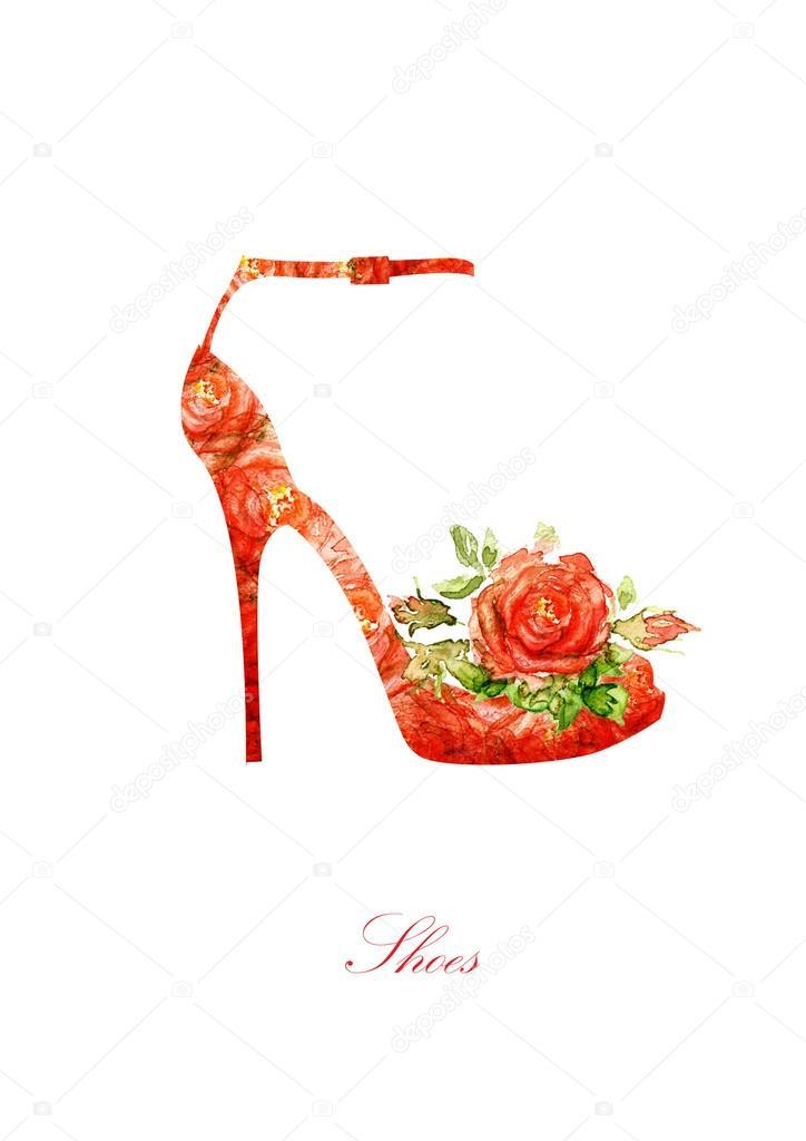 D'un 5ab5b1 De Chaussures Silhouette Femmes wTUOZxXqqn