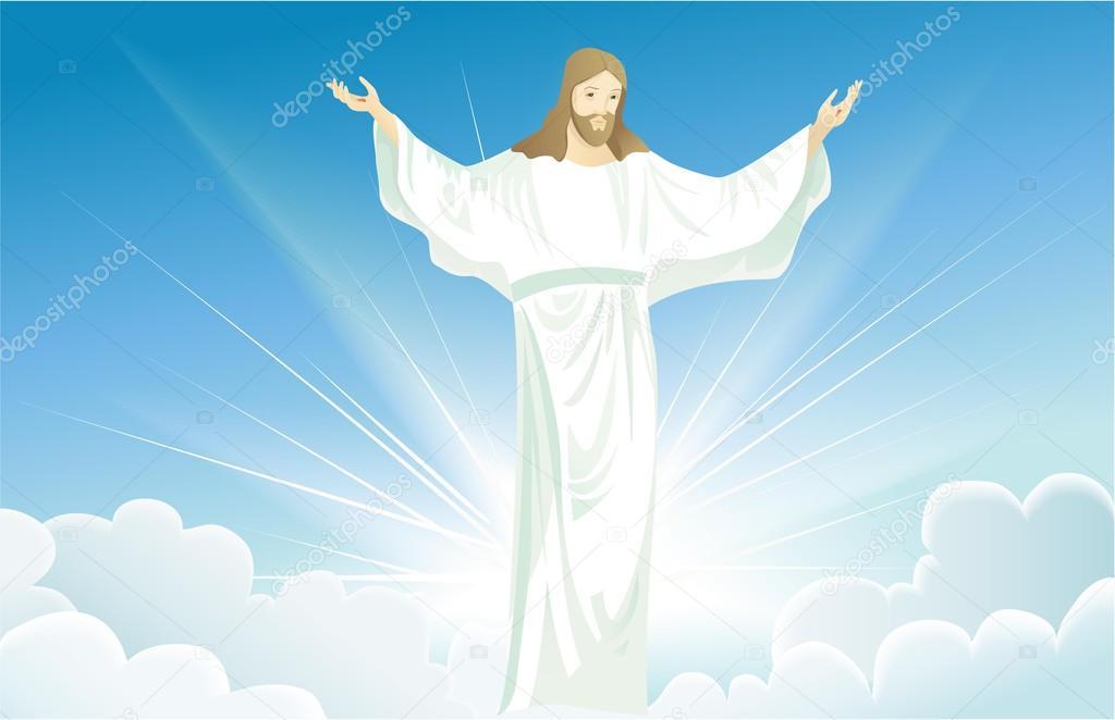 Jesucristo resucitado — Vector de stock © agnieszka #100969396