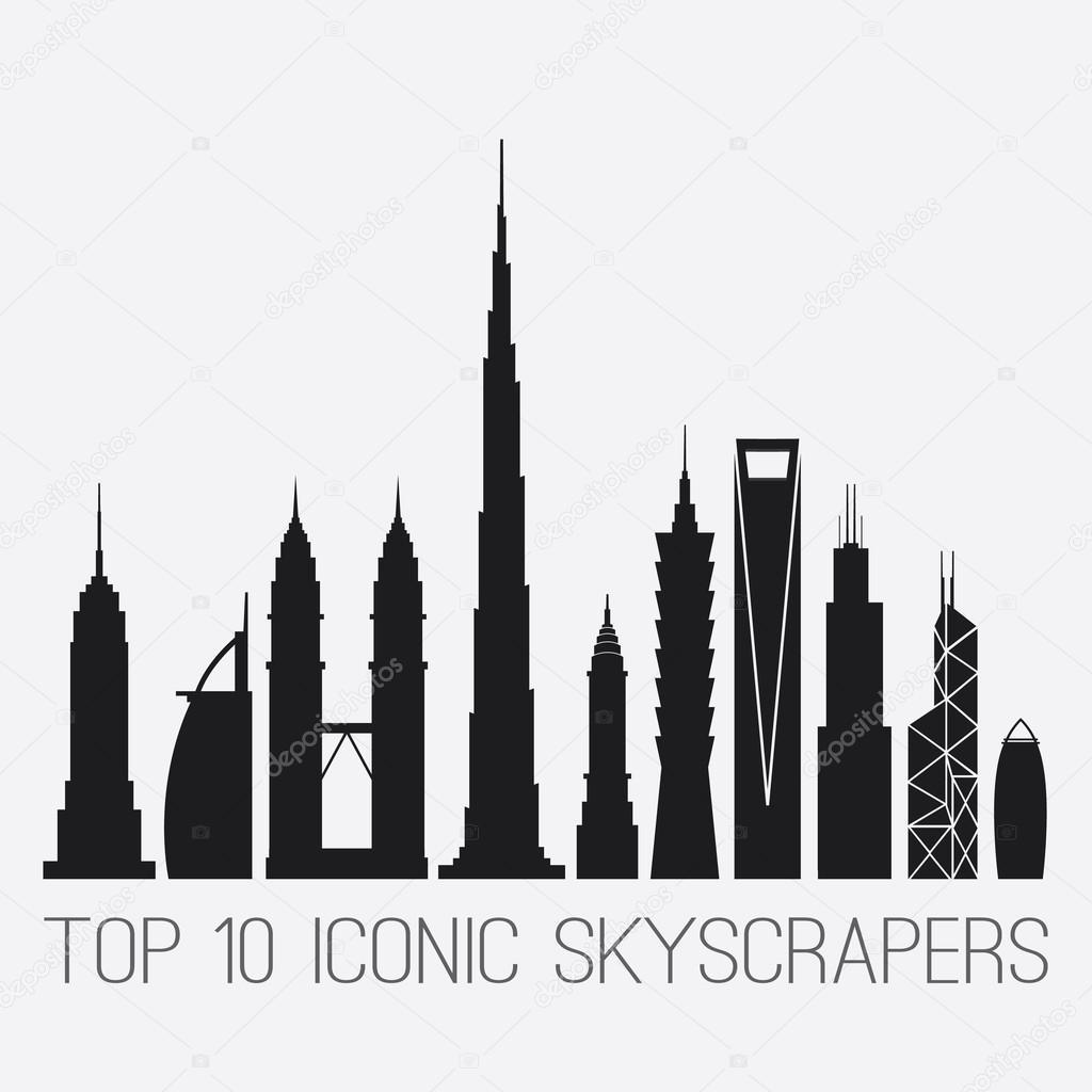 Iconic skyscrapers empire st building burj al arab petronas empire st building burj al arab petronas towers burj buycottarizona Gallery