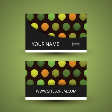 Abstract Business or Gift Card Design