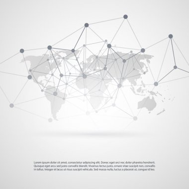 Global Networks - EPS10 Vector Illustration for Your Business