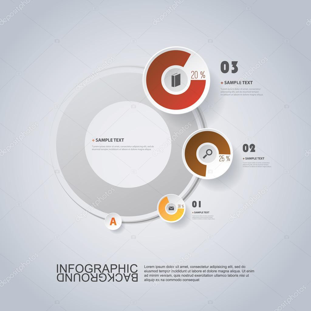 Circular infographic design with pie chart stock vector circular infographic design with pie chart stock vector geenschuldenfo Images