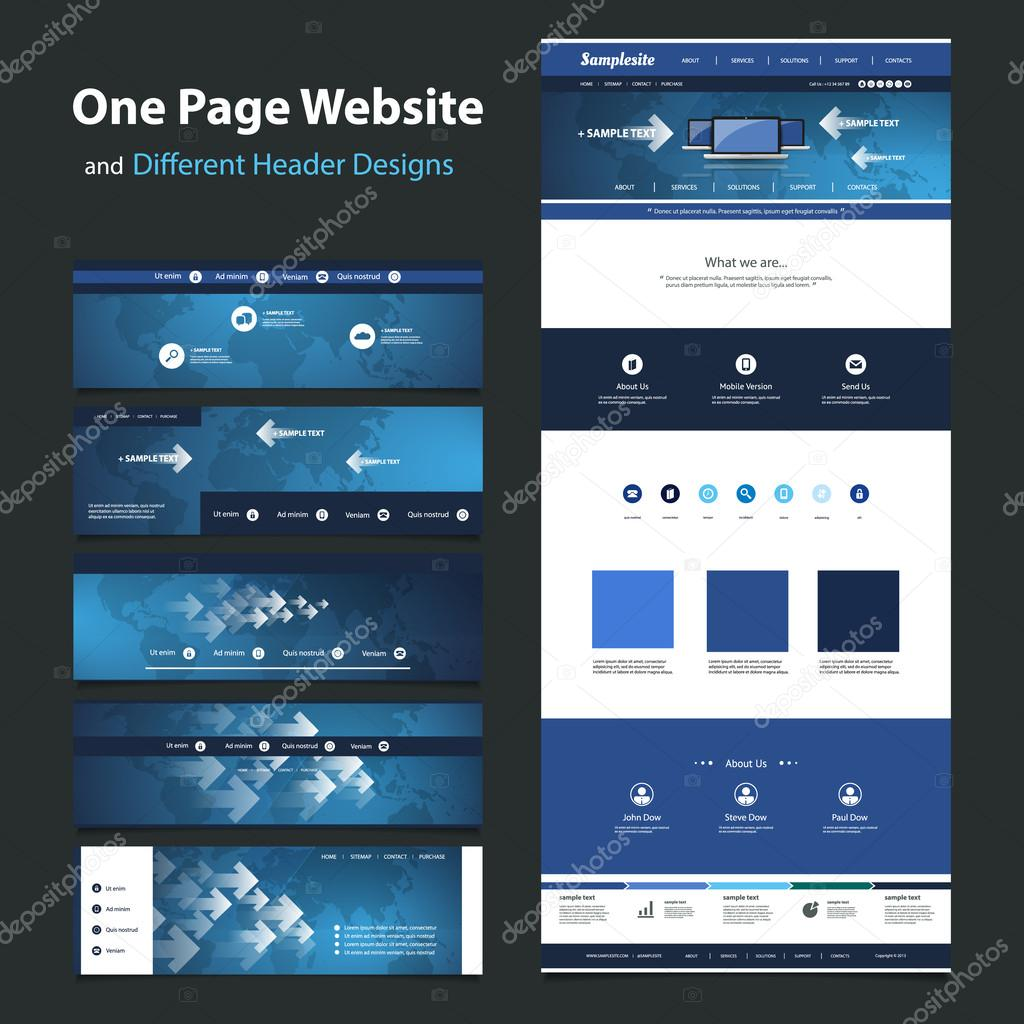 one site website