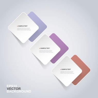 Minimal Paper Cut Infographics Design