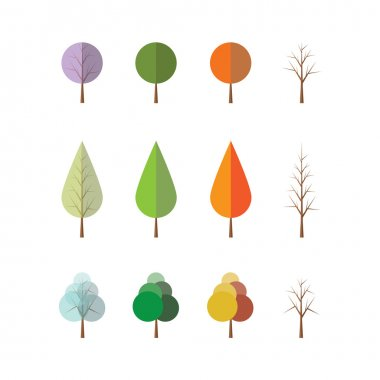 Four Seasons - Different Tree Designs