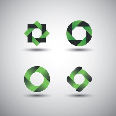 Collection of Minimalist Icon Designs - Corporate Identity Logos