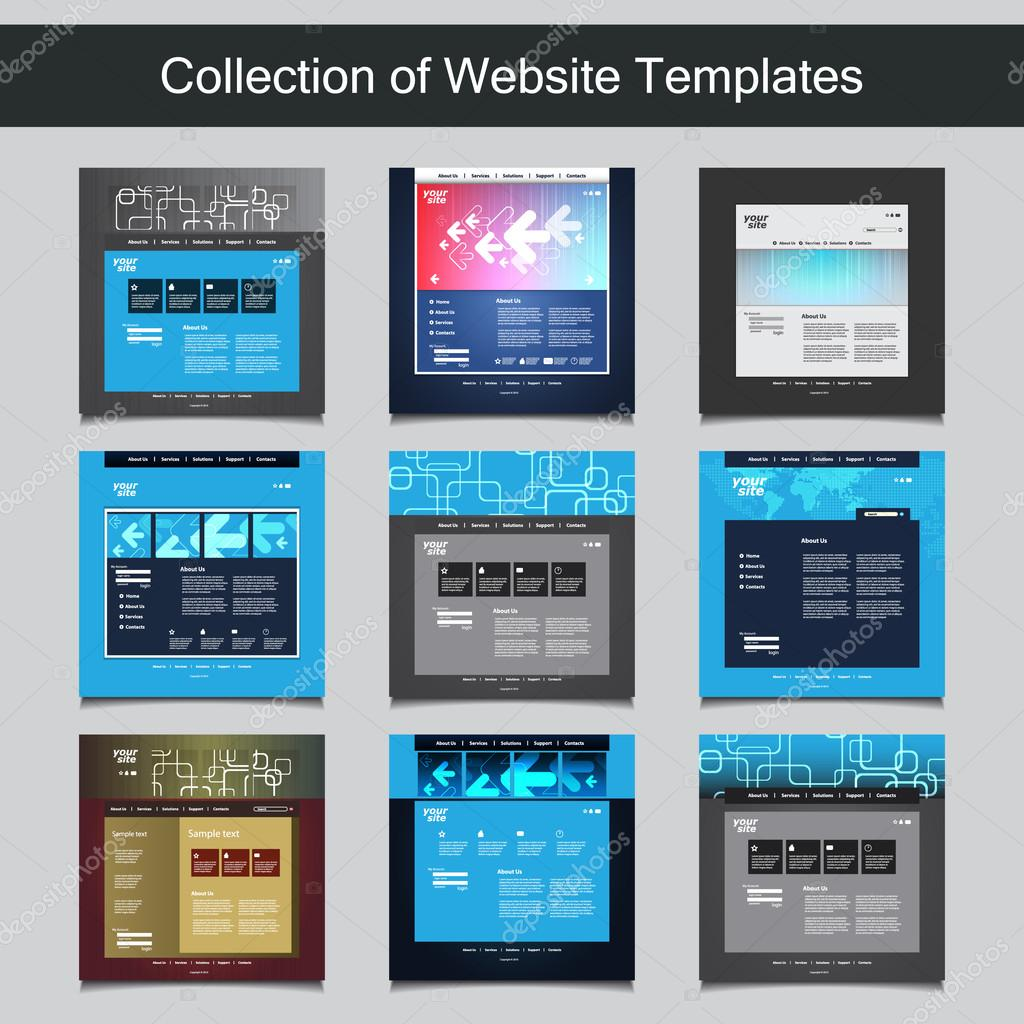 Collection of Website Templates for Your Business