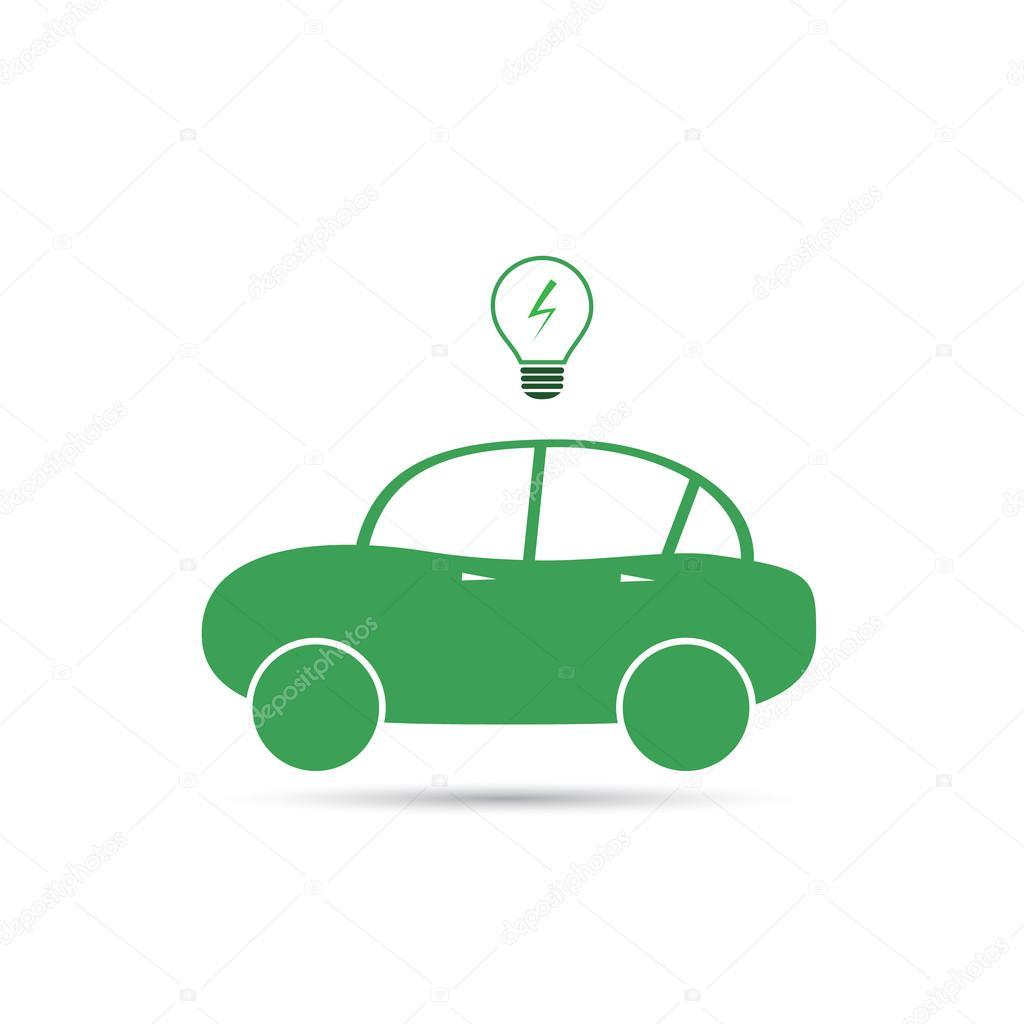전기 자동차 아이콘 디자인 — 스톡 벡터 © bagotaj #67821989
