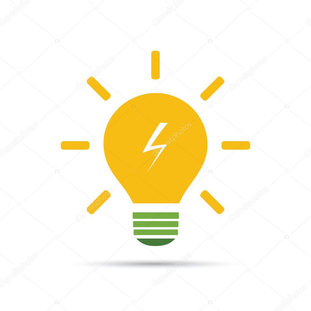 depositphotos_67821997 stock illustration solar energy concept design light