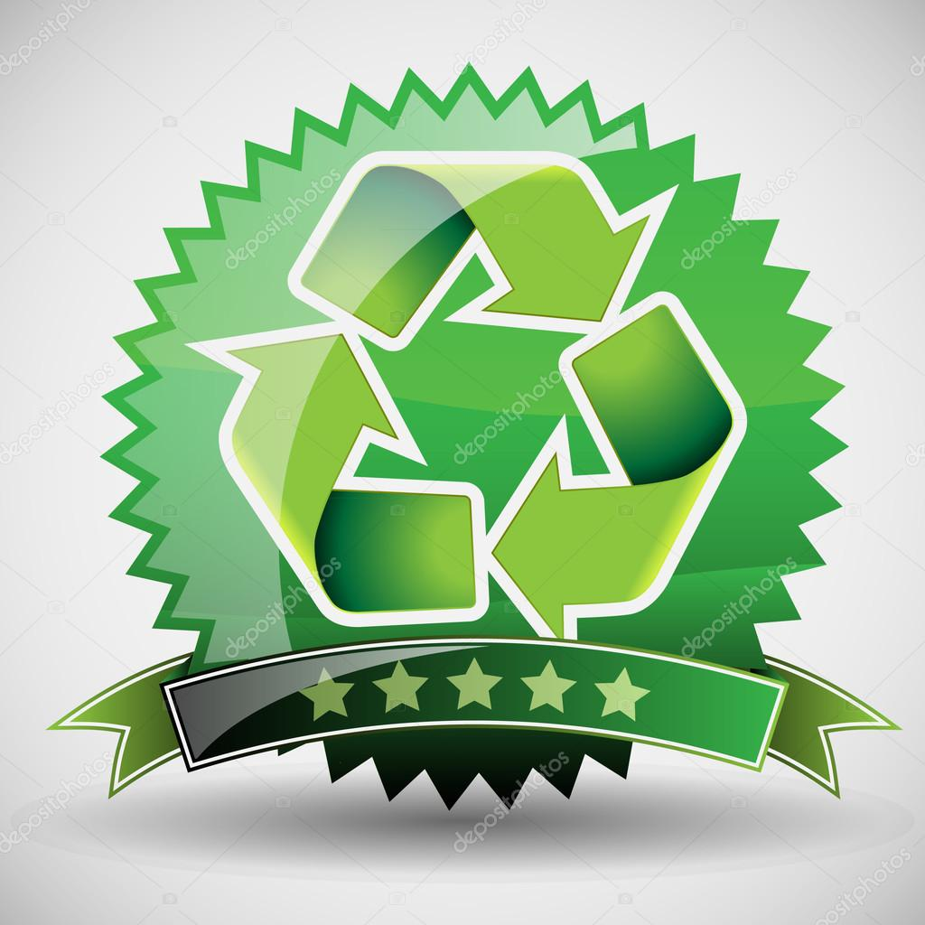 Illustration of Recycling Label - Five Star Guarantee