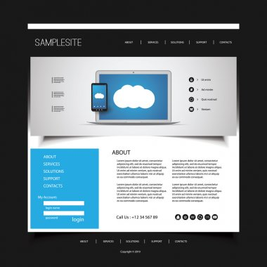 Website Design for Your Business with Electronic Devices